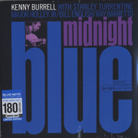 Kenny Burrell  ケニー・バレル  Midnight Blue  - Blue Note 4123