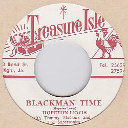 Hopeton Lewis  ホープトン・ルイス  Blackman Time / Live It Up -7