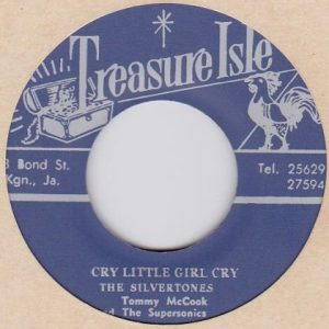 The Silvertones  シルヴァートーンズ  Cry Little Girl Cry / What Have I Done -7