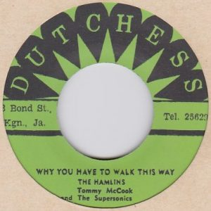 The Hamlins  ハムリンズ  Why You Have To Walk This Way / Tom Dooley -7