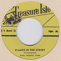 Baba Brooks Band  ババ・ブルックス・バンド  Flames In The Street