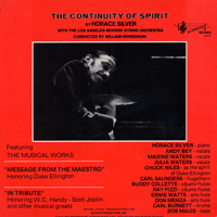 The Continuity Of Spirit