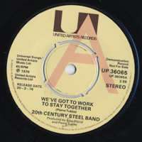 We've Got To Work To Stay Together / No. 1 -7