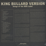 Songs Of The Bos Label