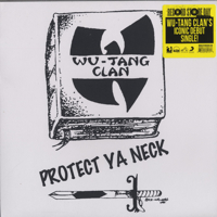 Protect Ya Neck / Method Man - Split Yellow Black Vinyl -12