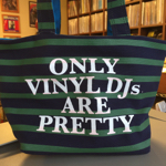 Cash For Vinyl / Navy-Green Border