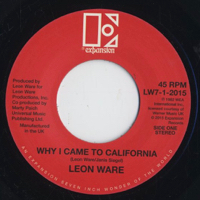 Why I Came To California / Rockin' You Eternally -7